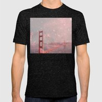 Stardust Covering San Francisco Mens Fitted Tee Tri-Black SMALL