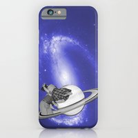 FLY ME TO THE SATURN iPhone 6 Slim Case
