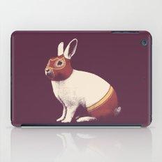 Lapin Catcheur (Rabbit Wrestler) iPad Case