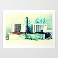 What's cooler than cool? Ice Cold! Art Print