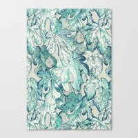 Fig Leaf Fancy - A Patte… Canvas Print
