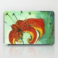 Tiger Lily iPad Case
