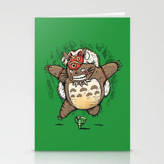 Totoroke Stationery Card