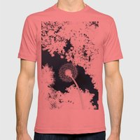 Diente De León Mens Fitted Tee Pomegranate SMALL