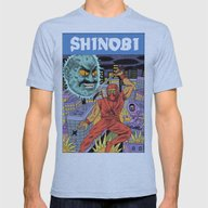 Shinobi Mens Fitted Tee Athletic Blue SMALL