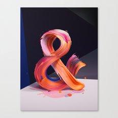 & Ampersand Canvas Print