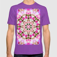 ManDAla Mens Fitted Tee Ultraviolet SMALL