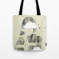 Facet Sky Tote Bag