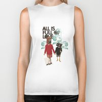 ALL IS FULL OF LOVE Biker Tank