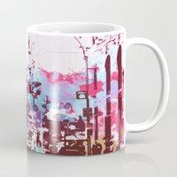 time square/new york 1 Mug