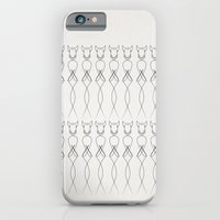 iPhone & iPod Case featuring One line nude by quibe