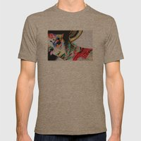 Portre Mens Fitted Tee Tri-Coffee SMALL