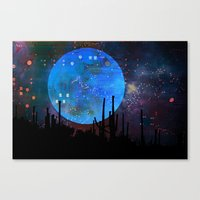 The Moon2 Canvas Print