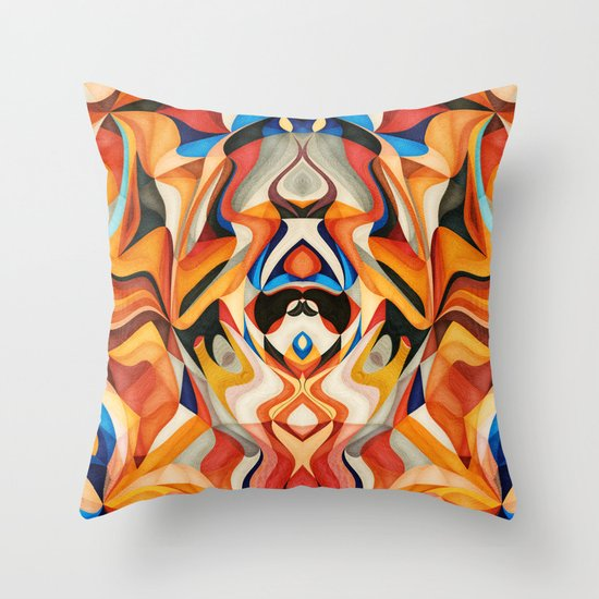 Too Red Throw Pillow