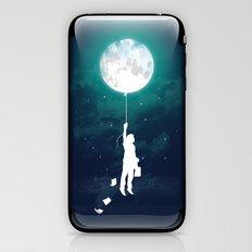 Burn the midnight oil  iPhone & iPod Skin