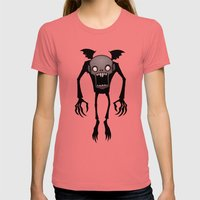 Nosferatu Womens Fitted Tee Pomegranate SMALL