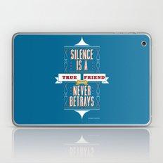 Silence Is Laptop & iPad Skin