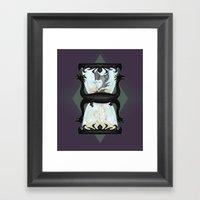 Maleficent's Hour Framed Art Print