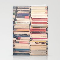books Stationery Cards featuring Books  by AC Photography