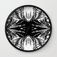 Troptonal Dark Wall Clock