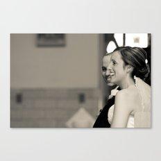 Mr & Mrs Greges Canvas Print