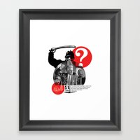 You Can Quote Me - Nietz… Framed Art Print