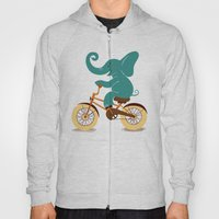 Elephant on the bike Hoody
