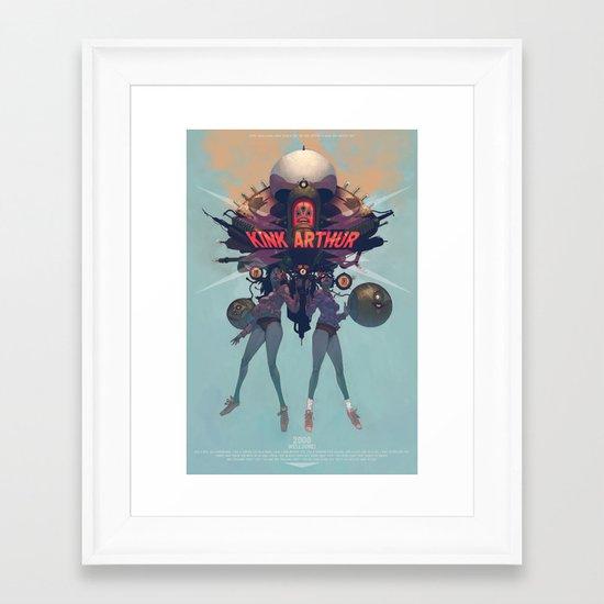 Oh, yeah... Framed Art Print