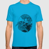 goldie's friend Mens Fitted Tee Teal SMALL