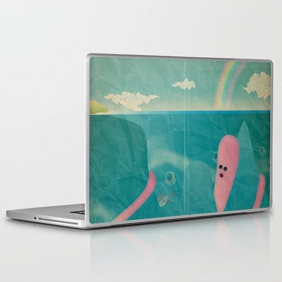 l ' i s o l a c h e n o n c ' è Laptop & iPad Skin