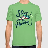 Slice Of Heaven 3/3 Mens Fitted Tee Grass SMALL