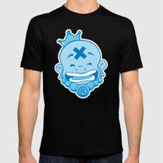 Laughing Buddha SMALL Black Mens Fitted Tee