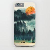 Wilderness Camp iPhone 6 Slim Case