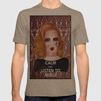 Adele Mens Fitted Tee Tri-Coffee SMALL