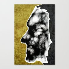 Mask #1 - Grit Canvas Print