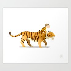 Wild Adventure - Tiger Art Print