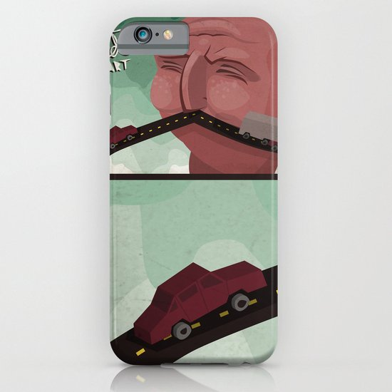 Mustache speed iPhone & iPod Case