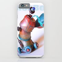 iPhone & iPod Case featuring DickBot by Cyndi Bellerose