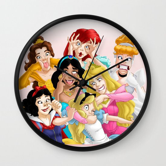 Smile for the Camera Wall Clock