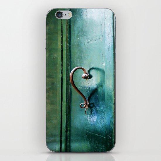 Handle on Love iPhone & iPod Skin
