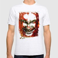 Aphex Twin Mens Fitted Tee Ash Grey SMALL
