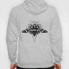 Geometric Moth Hoody