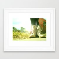John had it right the whole time Framed Art Print