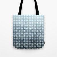 Ocean - Textured Pattern Tote Bag