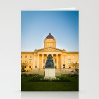 Winnipeg, MB, Canada Stationery Cards