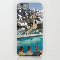Poolside Olympics iPhone 6 Slim Case