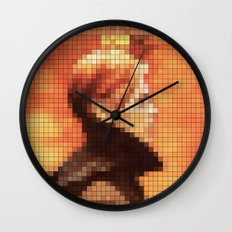 Bowie : Low Pixel Album … Wall Clock