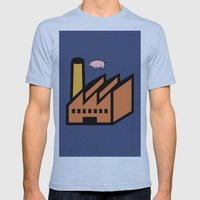 Unicode Animals Mens Fitted Tee Athletic Blue SMALL