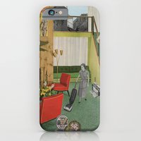iPhone & iPod Case featuring (Acting Like) Some Kind Of Fifties Housewife I by Raul Gil