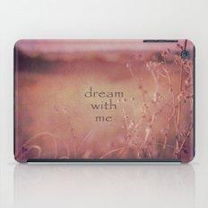 Dream With Me iPad Case